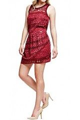 Guess Robe Hisa Bordeaux