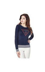 Guess Pull Ester Logo Triangle Navy W82R12