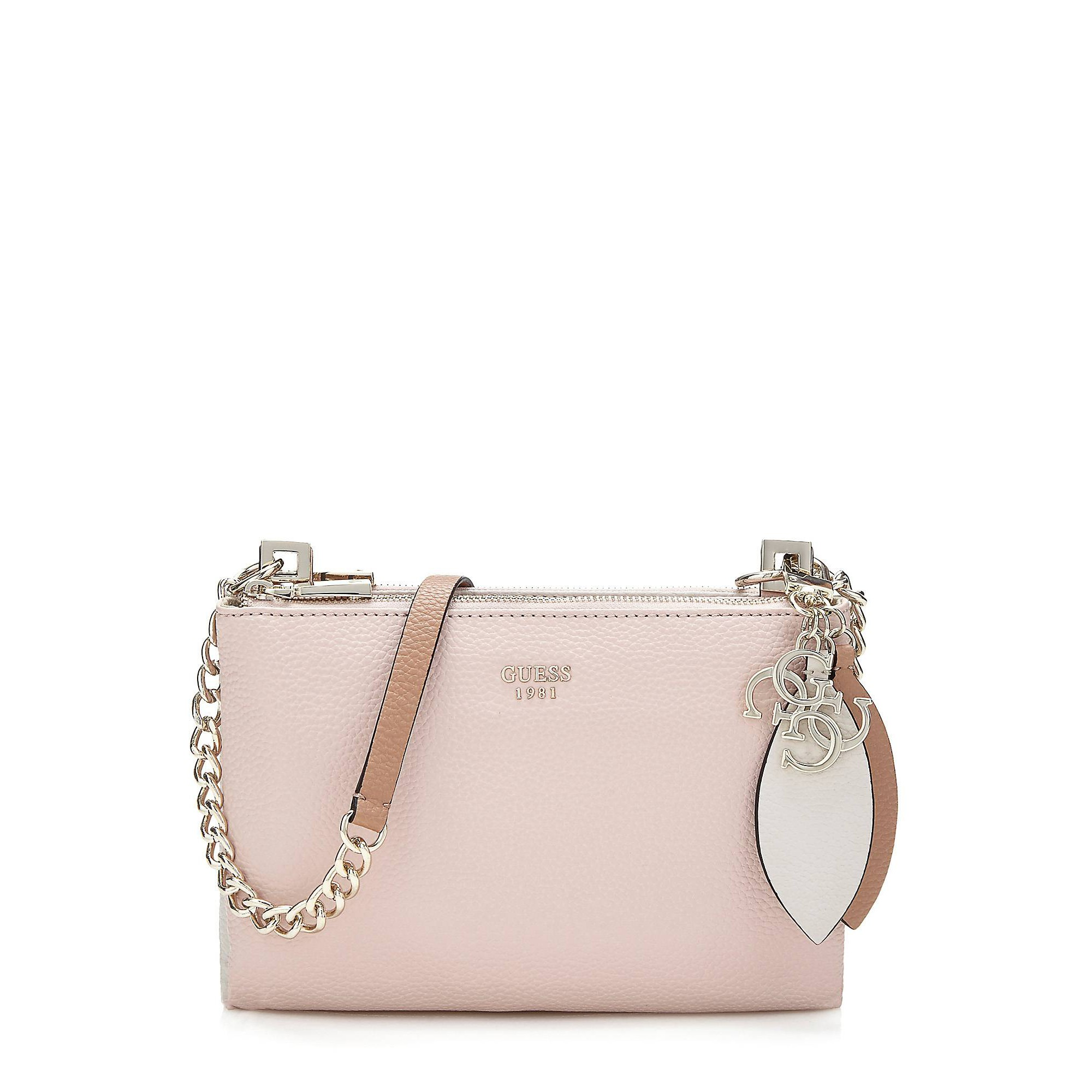 sac bandouliere rose guess