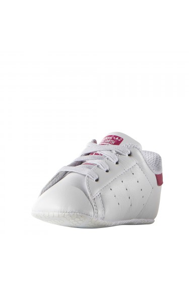 8e8b0f7bcc9cc Adidas Baskets Bébé Fille Stan Smith Blanc Rose