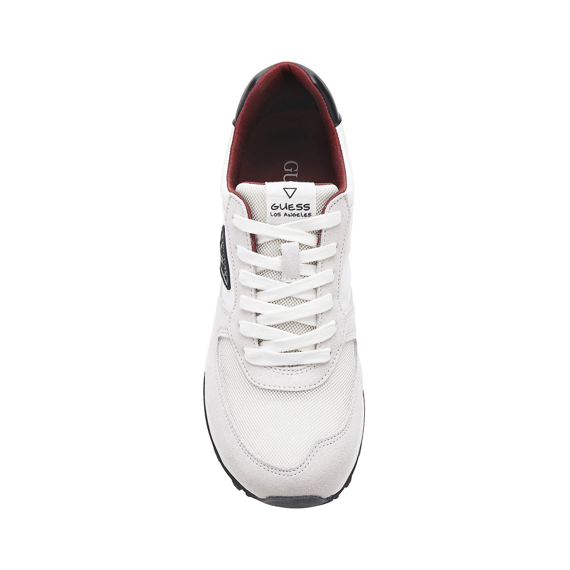 Active Blanc Guess Man Baskets Homme Charlie j4LAqR35