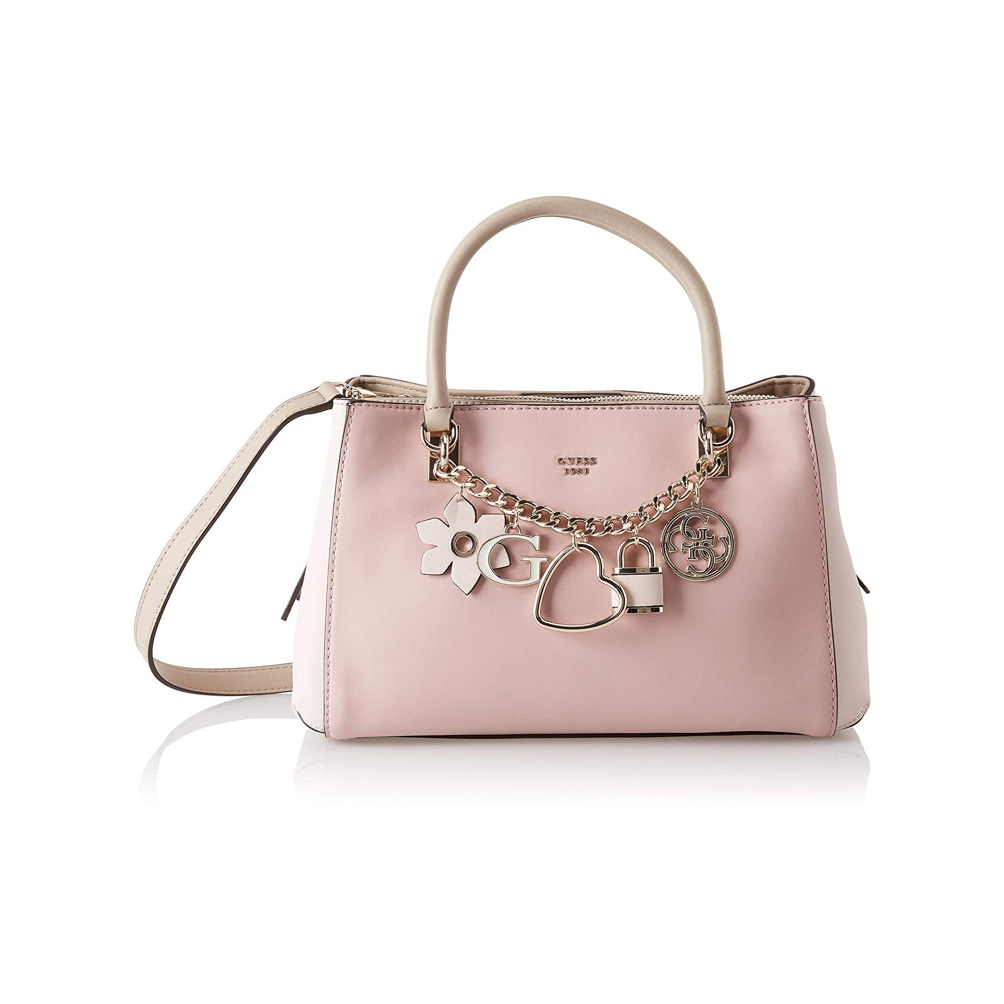 Guess Sac Porté Main HADLEY Rose Multi