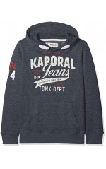 Kaporal May, Sweat-Shirt à Capuche Garçon Bleu Navmel