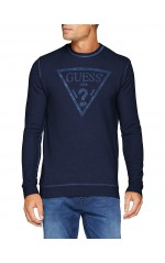 Guess Sweat Homme M83Q05 CARLOS Bleu Navy