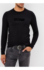 Guess Pull Homme Connor M83R19 Noir