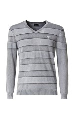 Guess Pull Homme Rayures Homme  M83R30 FRANKLIN SWTR Gris