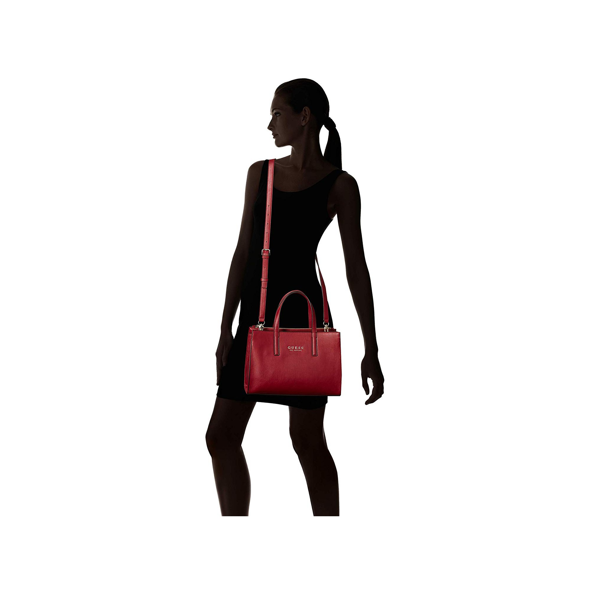 Vg709906 À In Rouge Society Guess Main Sienna 2 Sac Satchel 1 Nnw8m0