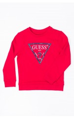Guess Sweat Enfant FLEECE N73Q10 Rouge
