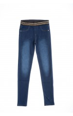 Guess Jean stretch Bébé Fille J84A03 SKINNY DENIM Bleu