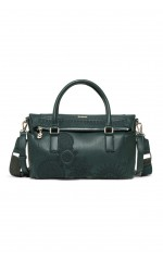 Desigual Sac Dark Amber Loverty Noir Olive 18WAXPAB