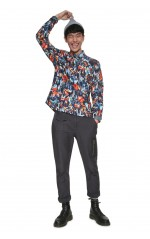 Desigual Chemise Homme Victor Multicolor 18WMCW08