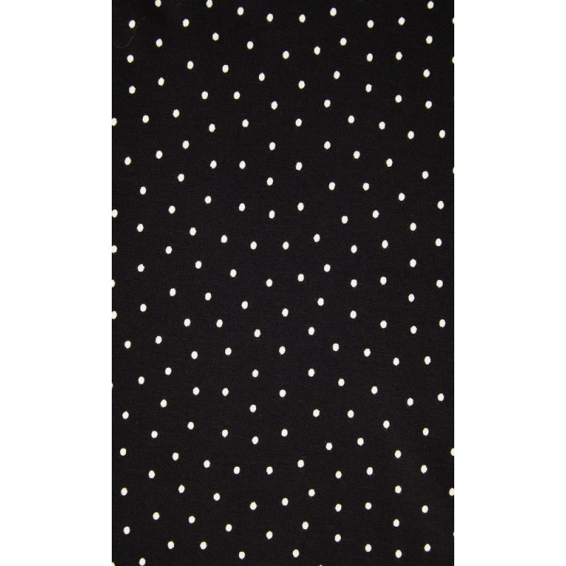 King Louie Robe Emmy Little Dots Black