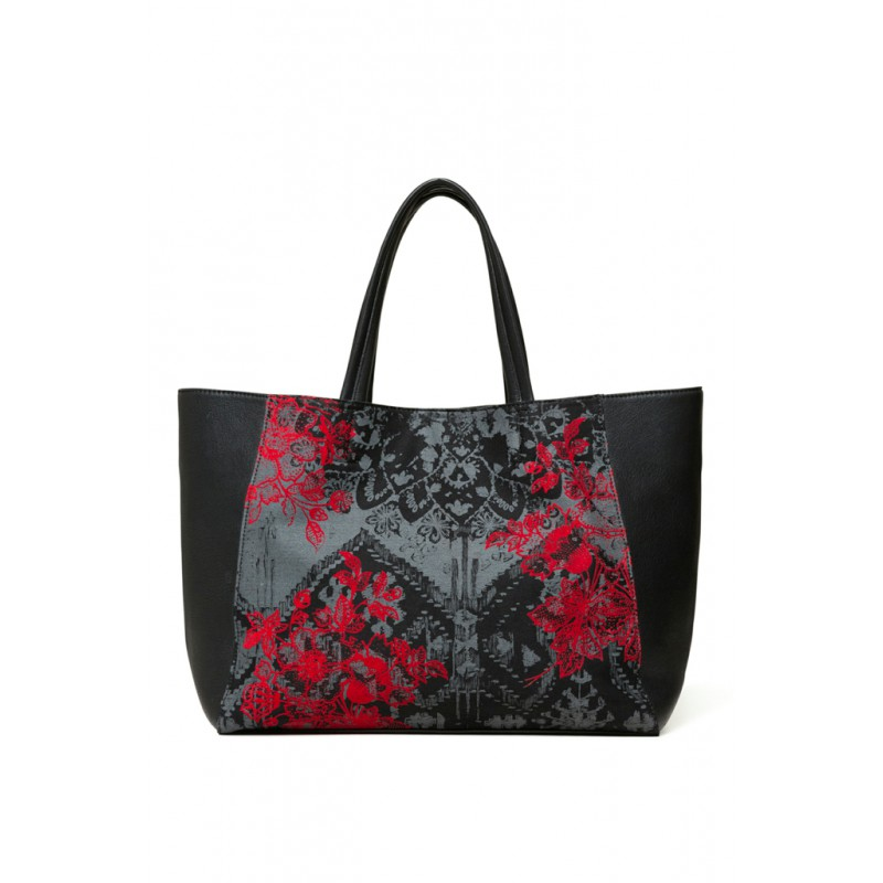 Desigual Sac Red Queen Cuenca Noir 18WAXF09