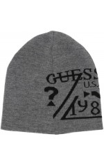 Guess Bonnet Reversible Homme M84Z30 Tom Beanie Gris