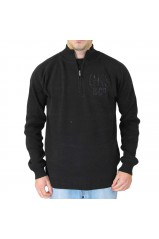 PULL HOMME QUIKSILVER KKMPU132 AGRIA NOIR