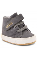 Guess Baskets Bébé Fille FLYNEA Gris