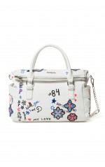 Desigual Sac 19SAXP61 Shibuya Loverty blanc
