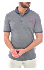 Guess Polo Homme GUESS CLUB M92P22 Gris