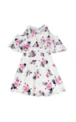 Guess Robe Fille MARCIANO J91K52 BLANC