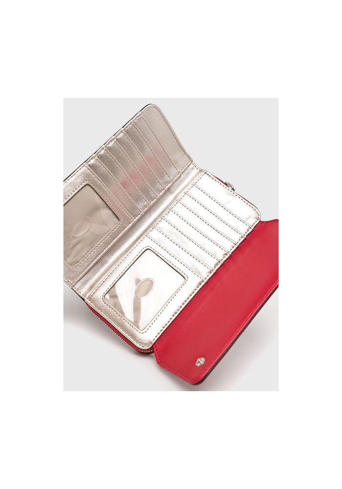Guess Portefeuille Femme Leanne SWVY71 Rouge