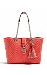 Guess Sac Femme VIOLET CARRYALL VG729423 Corail