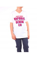 Kaporal T-shirt Garçon ARROW Blanc