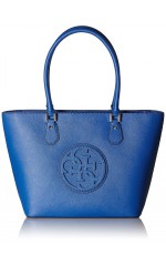Guess Sac Cabas Carly Hwvg62 11220 Bleu
