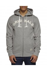 SWEAT JACK & JONES PACIFIC Light Grey