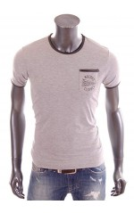 Redskins - T-Shirt slim fit Hollis gris homme