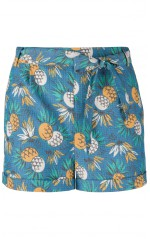 King Louie Short Roisin  Lanai Ocean Blue