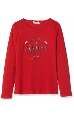 Kaporal Tee-shirt  Manches Longues Fille TIMBO Rouge