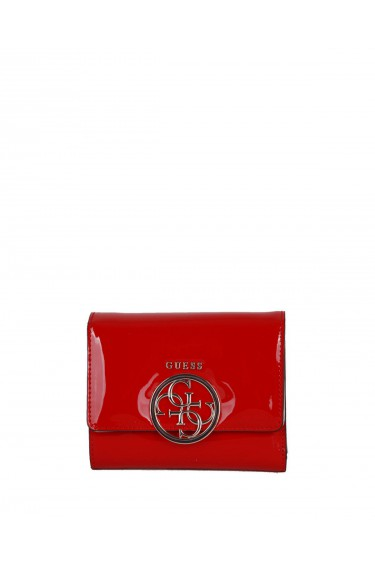 Guess Portefeuille femme Kamryn rouge 669143