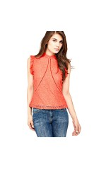 Guess Top Mabel Rouge