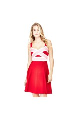 Guess Robe Ines Rouge