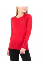 Guess Pull Femme W94R0XZ2760 Rives Rouge