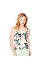 Guess Top Débardeur Rose W82R24
