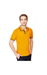 Guess Polo Homme Ronald Jaune
