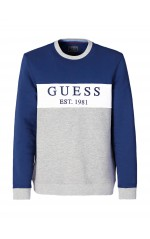 Guess Sweat Homme M94Q39 Clem Bleu