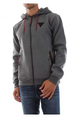 Guess Sweat homme Barry Hoodie Track gris clair M94Q48