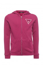 Guess Sweat Zippé Fille J81Q13 Fushia