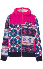 Desigual Sweat Becket rose imprimé 67S34E6