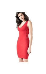 Guess Robe Olivia Rouge W82K07