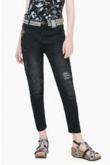 Desigual Jeans 4 Denim Black Wash 71D2JA5