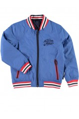 Blouson reversible Name It Mento kids Bleu