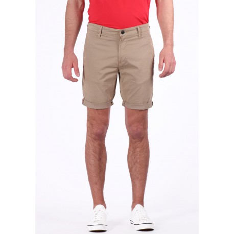 Kaporal Short Chino Homme PATA Beige (rft)