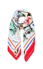 Desigual Foulard Magic Blanc 18SAWW65