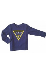 Guess Sweat Enfant FLEECE N73Q10 Bleu Navy