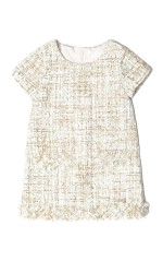 Guess Robe Brodés DRESS Fille K84k22 Beige Clair