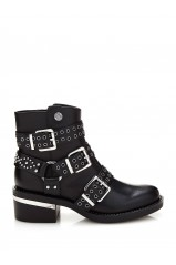 Guess Bottines Fifi Noir FLFIF3LEA10