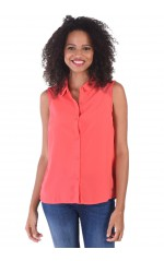 Guess Top Femme Vally Rouge
